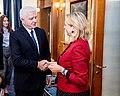 Karin Kneissl reist nach Podgorica (44394327944).jpg