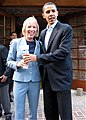 Karla Jurvetson and Barack Obama (527331373).jpg