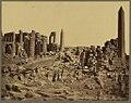 Karnak. Les trois obélisques du grand temple (Égypte) - Bonfils. LCCN2004667895.jpg