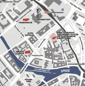 Evangelisches Gymnasium zum Grauen Kloster - Original site in Mitte