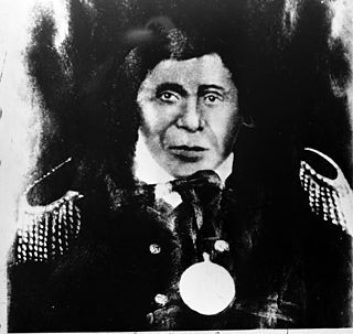 Ojibwe leader