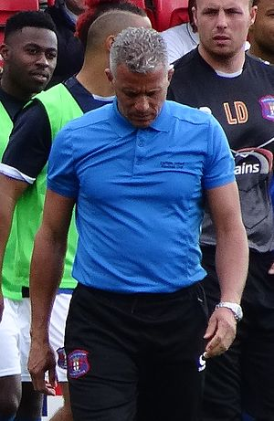 Keith Curle - Curle as manager of Carlisle United in 2015