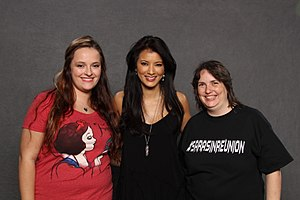 Kelly Hu - Hu at the January 2016 MagicCity Comic Con