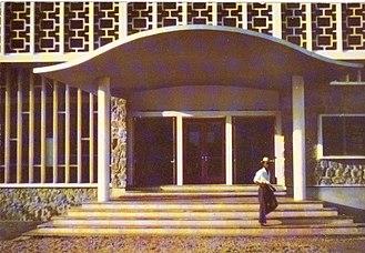 Jane Drew - Kenneth Onwuka Dike Library, University of Ibadan, Nigeria
