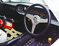 Kenneth Persson Ford GT40 interior Historic Falkenberg 2011.jpg