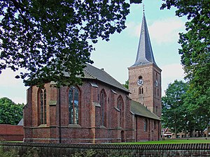 Zuidlaren - The church of Zuidlaren