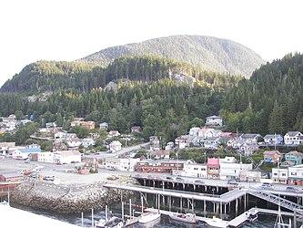 Ketchikan from Tongass Narrows, Alaska 8.jpg