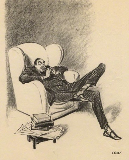 Keynes caricature Low 1934