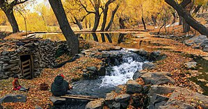 Khaplu - Khaplu in autumn.