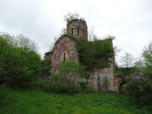 Georgian churches in Armenia - Image: Khuchap Monastery 1