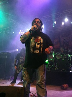Killjoy and Necrophagia at Hellfest 2012.jpg