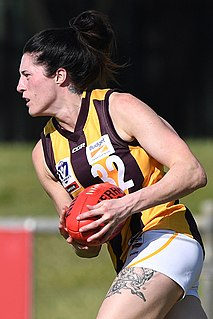 Kimberley Ebb Australian rules footballer