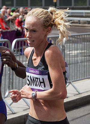 Kim Smith (runner) - Smith in the Marathon at the 2012 Olympics in London