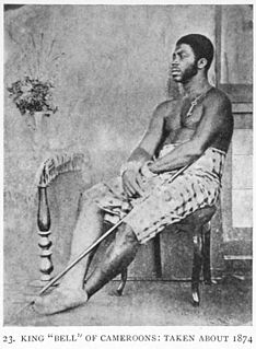 Ndumbe Lobe Bell Bell King of the Duala