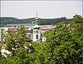 Klášterní věž ze záecké věže - panoramio.jpg