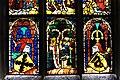 Klagenfurt Viktring Stiftskirche Glasmalereien mittleres Fenster unterste Bildreihe 07052011 112.jpg