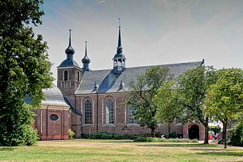 The abbey church of the Kamp monastery