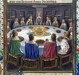 Koning Arthur Ronde Tafel.Ronde Tafel Wikipedia