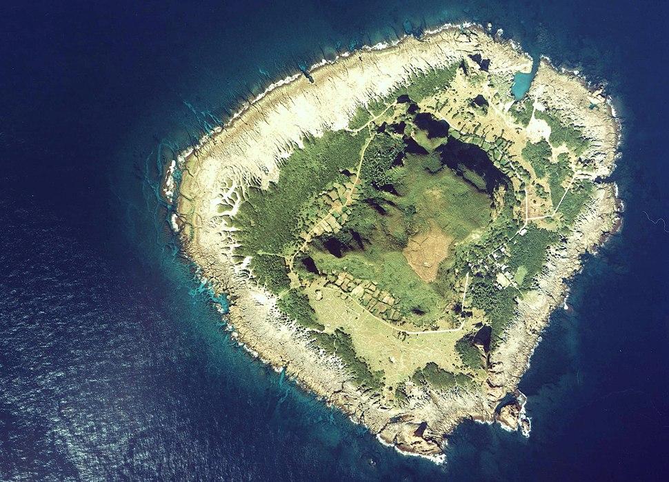 Kodakara-Jima Island Aerial Photograph