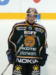 Toni Koivisto Finnish ice hockey player