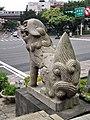 Komainu of Taiwan Shrine 台灣神社貊犬 - panoramio.jpg
