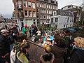 Koningsdag in Amsterdam, Lijnbaansgracht, Westerkade, Bloemgracht foto 2.JPG
