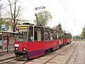 Konstal 105Na 738, tram line 5, Szczecin, 2014.jpg