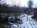 Kopiec Wandy tram track loop Kraków, 2016 II.JPG