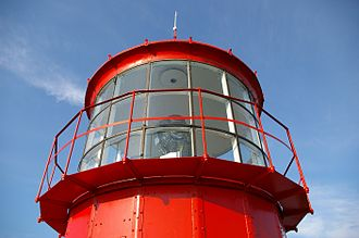 Kõpu Lighthouse - Lantern gallery of the Kõpu lighthouse
