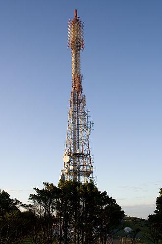Kordia - Kordia TV mast, Mount Kaukau