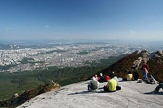 Bukhansan - Image: Korea Bukhansan 16