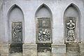 Kostel sv. Petra a Pavla (Čáslav) - náhrobní kameny 1.JPG