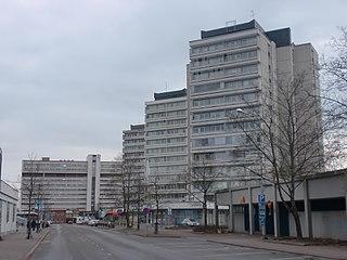 Kouvola City in Kymenlaakso, Finland