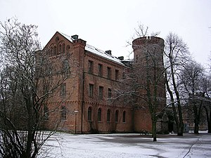 Kungshuset, the oldest university building (completed 1584), currently houses the Department of Philosophy.