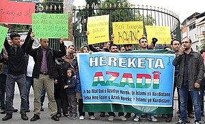 Kurds in Turkey - Kurds protesting the Siege of Kobanî, 29 September 2014