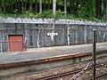 Kurobe Gorge Railway passageway of winter.jpg