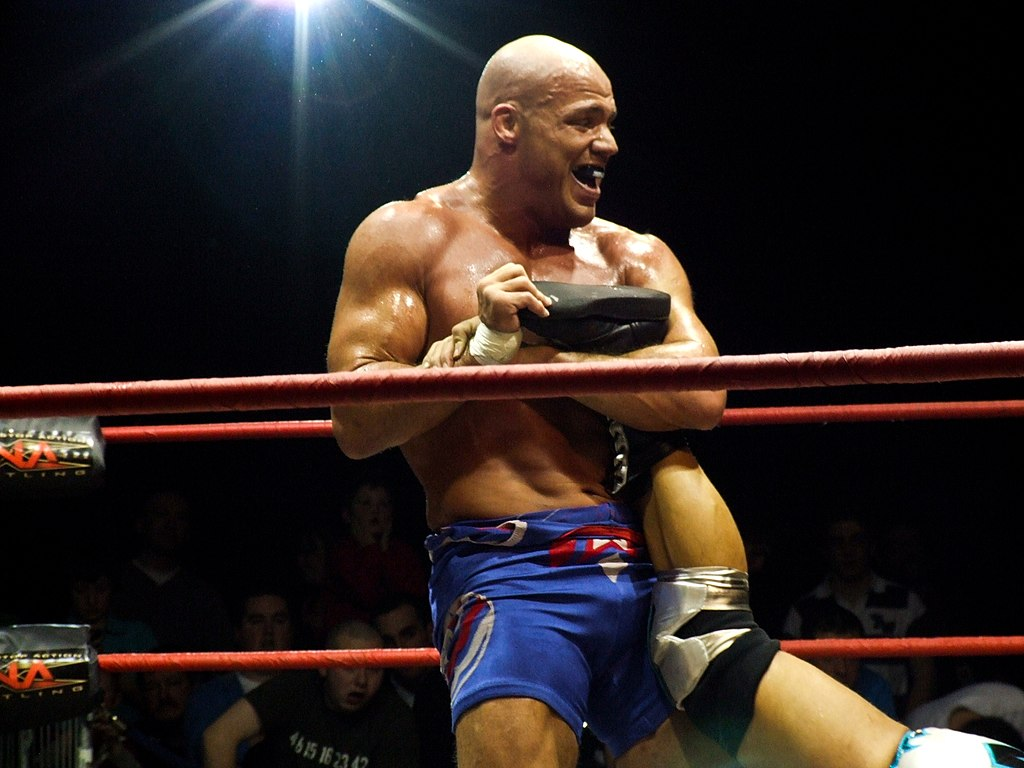 File kurt angle effectue un ankle wikimedia commons - Pictures of kurt angle ...