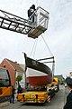 Kustvissersvaartuig OD.1 Martha wordt overgebracht naar het nieuwe Nationaal Visserijmuseum te Oostduinkerke - 372742 - onroerenderfgoed.jpg