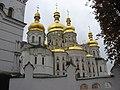 Kyiv Pechersk Lavra - Uspenskyi cathedral domes.jpg