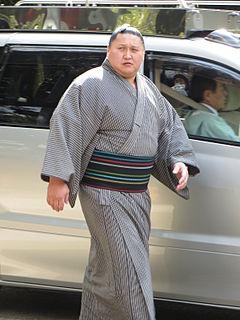 Kyokutenhō Masaru Sumo wrestler