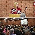Kyrsten Sinema speaking in front of the SouthEast Valley Regional Association of REALTORS.jpg