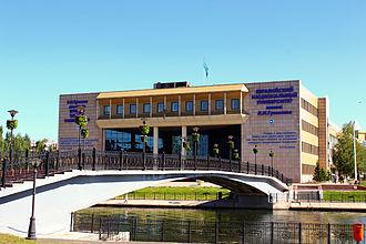 L. N. Gumilyov Eurasian National University - ENU main building