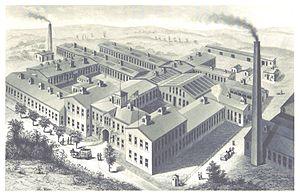 Augustus O. Bourn - Bourn's NATIONAL RUBBER COMPANY, in Bristol, RI.