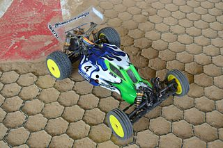 1:10 radio-controlled off-road buggy 1:10 scale radio-controlled dune buggy for off-road racing