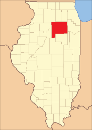 LaSalle County, Illinois - Image: La Salle County Illinois 1837