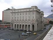 la spezia palazzo della provincia e piazza bayreuth