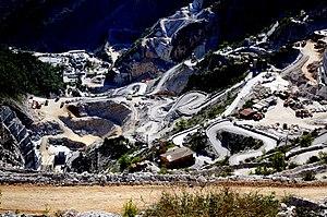 Miseglia - Canale di Fantiscritti marble quarry