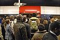 La grève sur le RER B, Paris décembre 2009.jpg