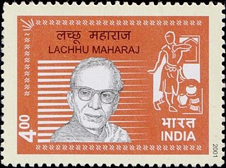 Lachhu Maharaj Indian dancer and choreographer
