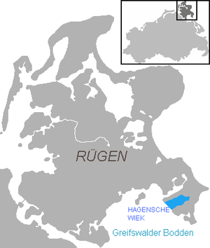 Hagensche Wiek - The location of Hagensche Wiek